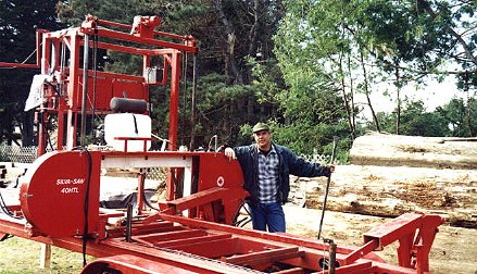 David Smith at his Mill